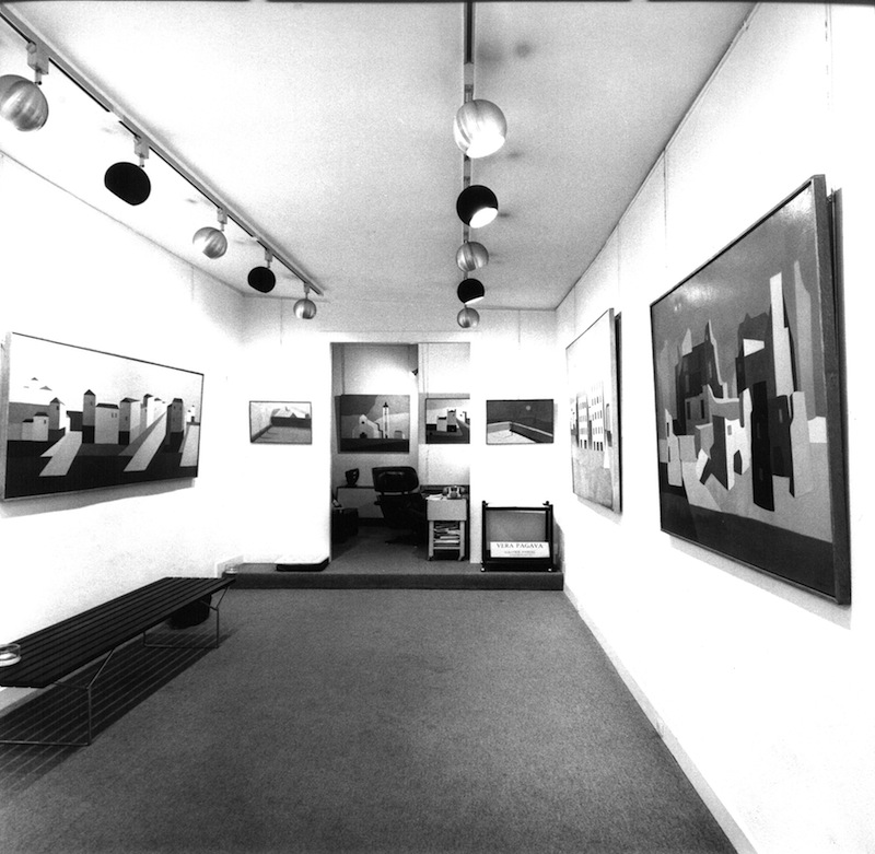 1976 - Exposition Vera Pagava a la Galerie Darial