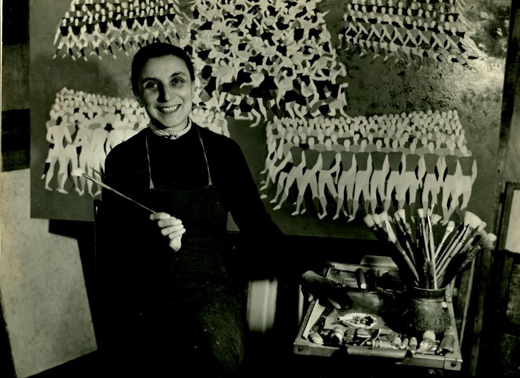 vera pagava-atelier-bataille-ca1950