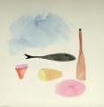 1958 ca_Still Life_watercolor_vera pagava